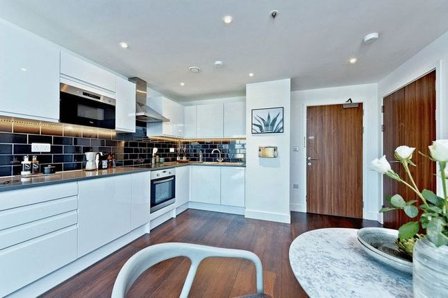 Thumbnail 1 bed flat to rent in Christchurch Road, London