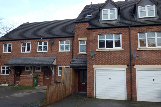 Thumbnail Terraced house to rent in Alder Carr Close, Redditch