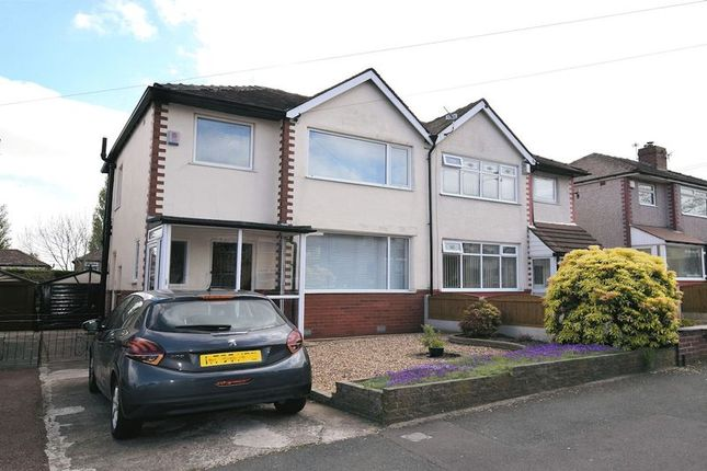 Thumbnail Semi-detached house for sale in Bradford Road, Farnworth BL4. 3 Bed Semi, No Upward Chain, Would Suit Updating