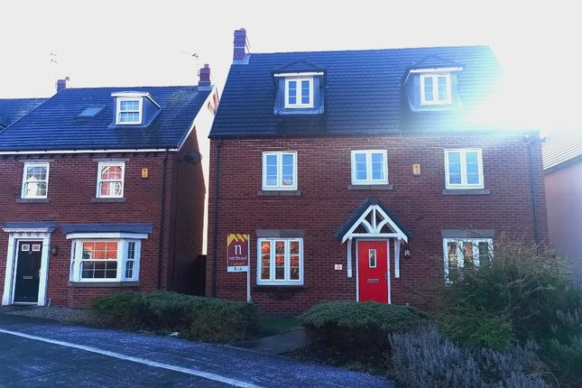 Thumbnail Detached house to rent in Orlando Drive, Chapelford, Warrington