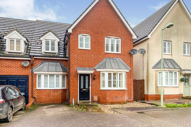 Semi-detached house for sale in Dotterel Way, Stowmarket