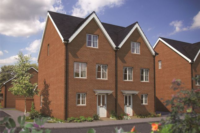 Thumbnail Semi-detached house for sale in Hyde End Road, Shinfield, Berkshire