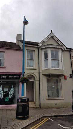 Thumbnail Flat for sale in Dimond Street, Pembroke Dock, Pembrokeshire