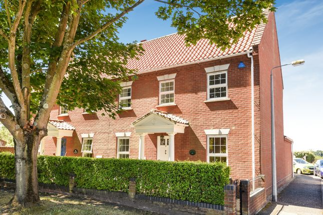Thumbnail Semi-detached house for sale in Norwich Road, Holt
