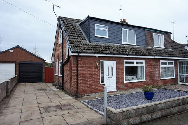 Thumbnail Semi-detached house for sale in Wavertree Road, Chester