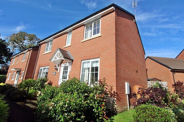 Thumbnail Detached house for sale in Brynteg Green, Beddau, Pontypridd, Rhondda, Cynon, Taff.