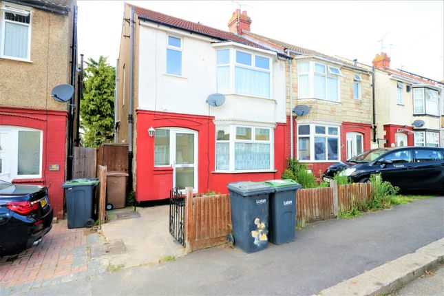 Thumbnail Semi-detached house for sale in Thornhill Road, Luton