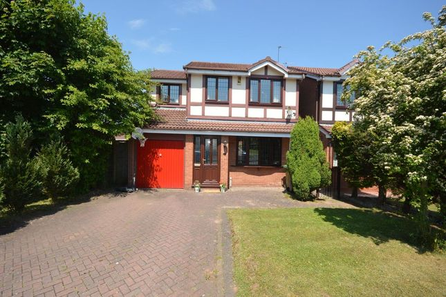 Thumbnail Detached house for sale in Tutbury Avenue, Perton, Wolverhampton