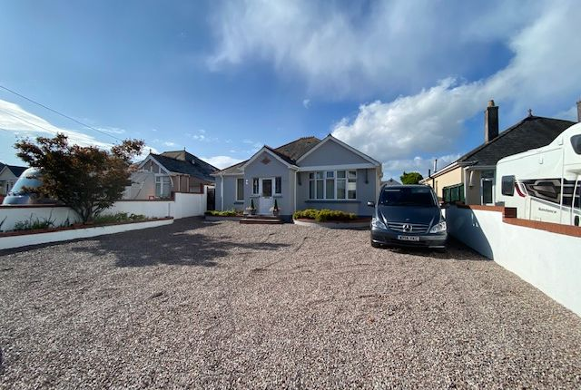 Thumbnail Detached bungalow for sale in Pomphlett Road, Plymstock, Plymouth, Devon