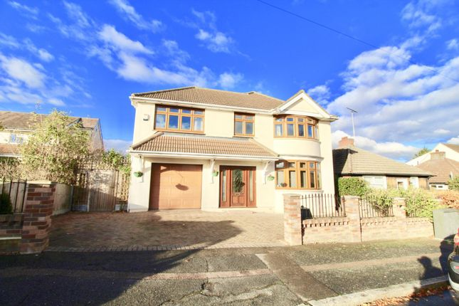 Thumbnail Detached house for sale in Greenway, Romford