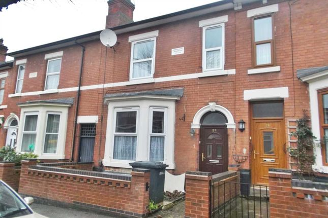 Thumbnail Terraced house to rent in Wilfred Street, Derby