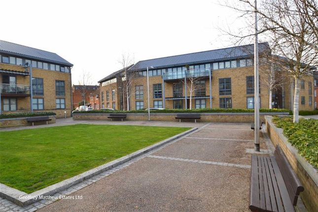 Thumbnail Flat for sale in Soper Square, New Hall, Harlow, Essex