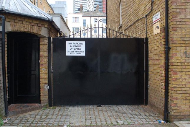 Thumbnail Parking/garage for sale in Prince Regent Mews, London