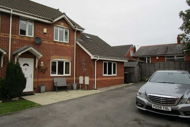 Thumbnail Semi-detached house for sale in Luzley Brook Road, Royton, Oldham