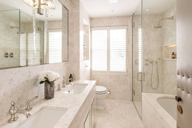 Master Bathroom of Pond Place, Chelsea, London SW3