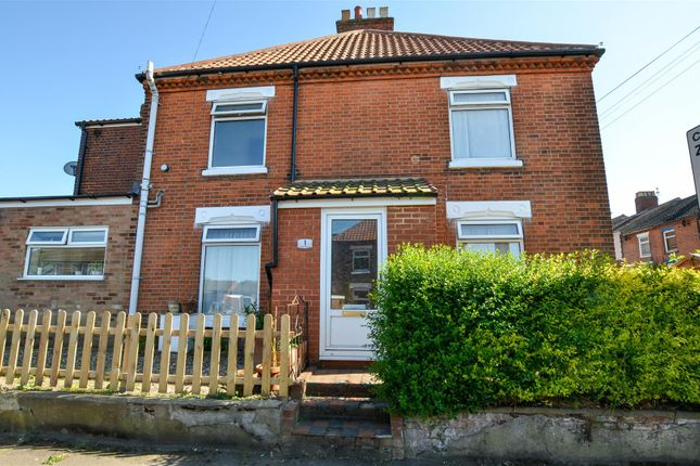 Thumbnail End terrace house for sale in Violet Road, Norwich