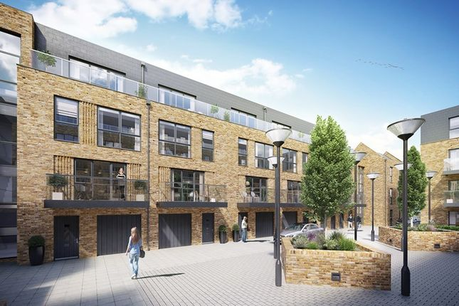 Thumbnail Town house for sale in White Lion Court, 5 Swan Street, Old Isleworth