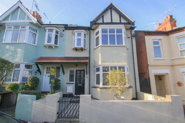Thumbnail Semi-detached house for sale in Victoria Drive, Leigh-On-Sea