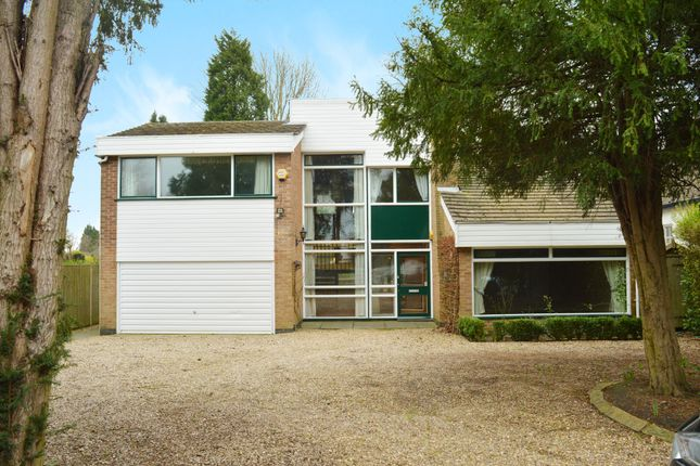 Thumbnail Detached house for sale in Stoughton Drive South, Oadby, Leicester