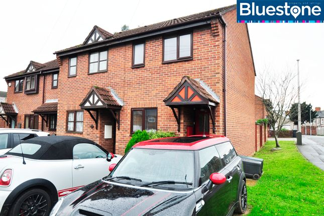 Thumbnail End terrace house for sale in Highbank, Newport