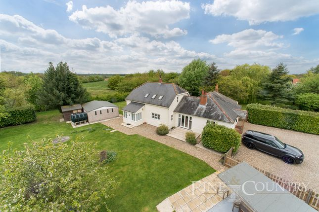 Thumbnail Detached house for sale in London Road, Great Horkesley, Colchester