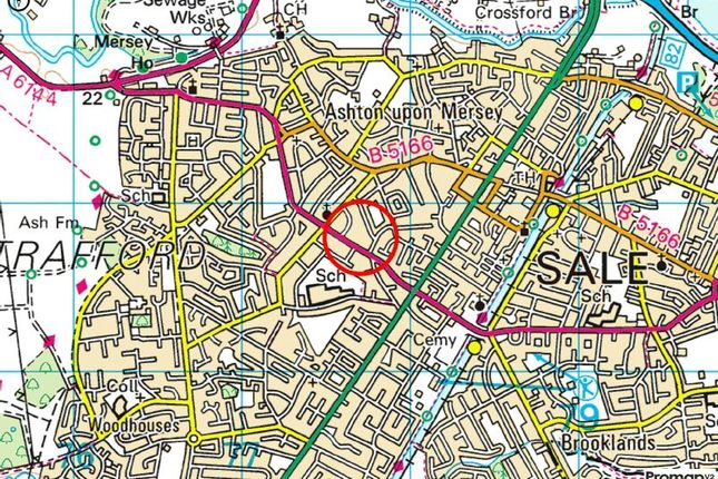 Town Plan of Harboro Road, Sale M33