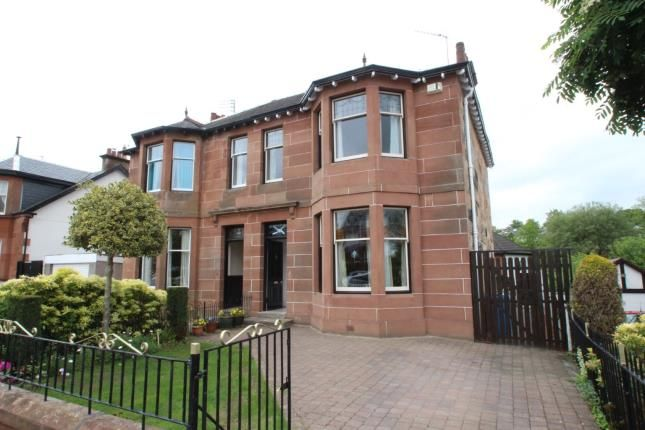 Thumbnail Semi-detached house for sale in Park Road, Giffnock, Glasgow, East Renfrewshire