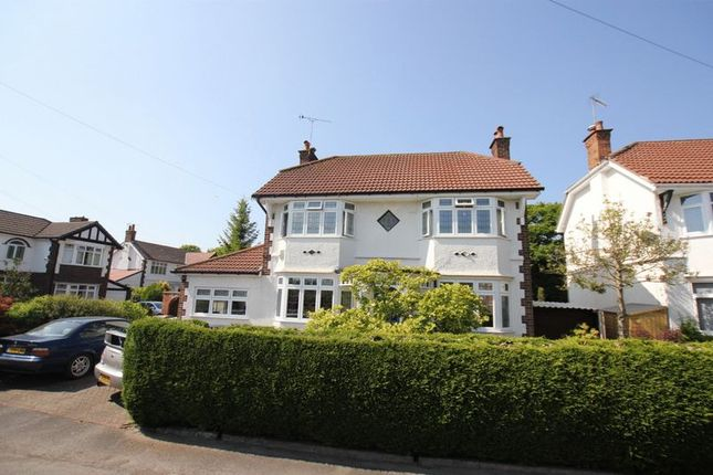 Thumbnail Detached house for sale in Dale Road, Bromborough, Wirral