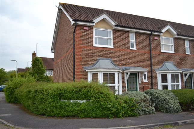 Thumbnail End terrace house to rent in Farmers End, Charvil, Berkshire