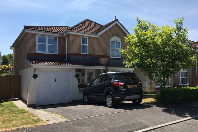 Thumbnail Detached house for sale in St Joseph Place, Llantarnam, Cwmbran