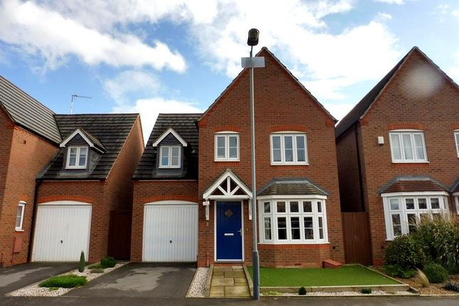 Thumbnail Detached house for sale in Swan Meadow, Chase Meadow Square, Warwick