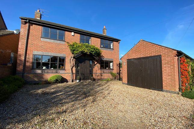 Thumbnail Detached house for sale in Church Lane, Dunton Bassett, Leicester