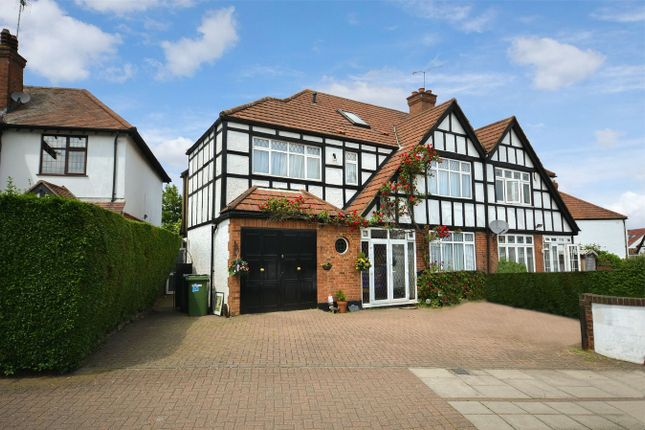 Thumbnail Semi-detached house for sale in Oldborough Road, Wembley, Middlesex
