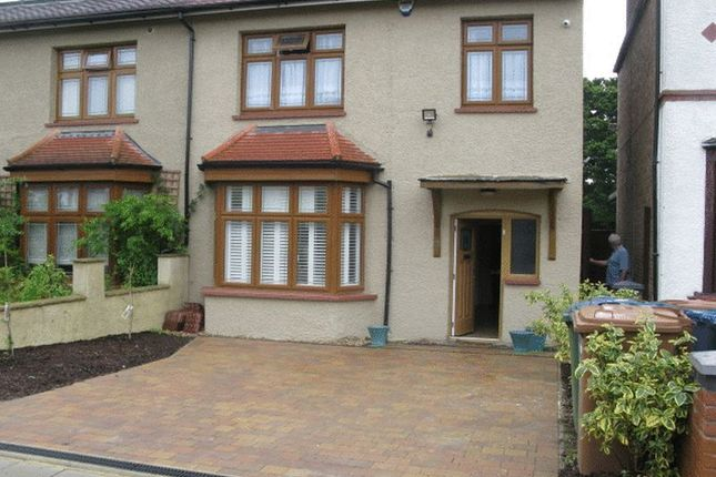 Thumbnail Semi-detached house to rent in Whitchurch Gardens, Canons Park, Middlesex