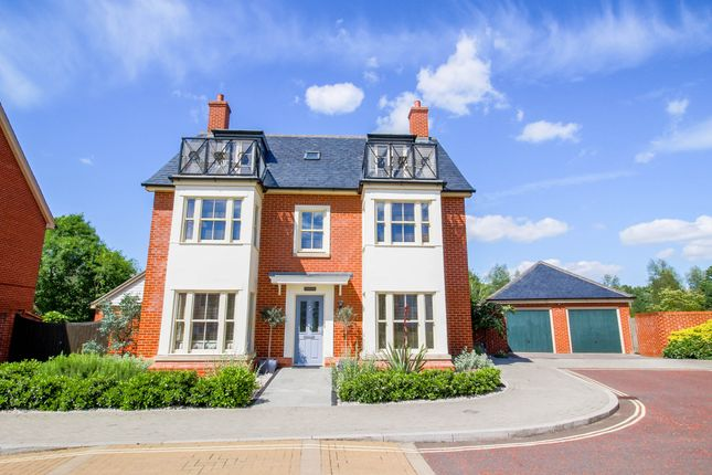 Thumbnail Detached house for sale in Cooks Crescent, Wivenhoe, Colchester