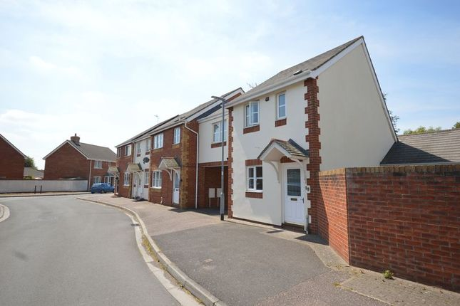 Thumbnail End terrace house to rent in Cashford Gate, Taunton