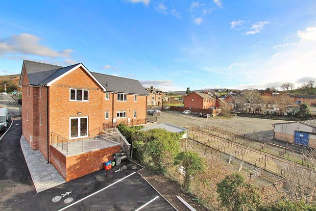 Thumbnail End terrace house for sale in Brecon Road, Builth Wells, Powys