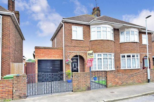 Thumbnail Semi-detached house for sale in St. Helens Road, Sheerness, Kent