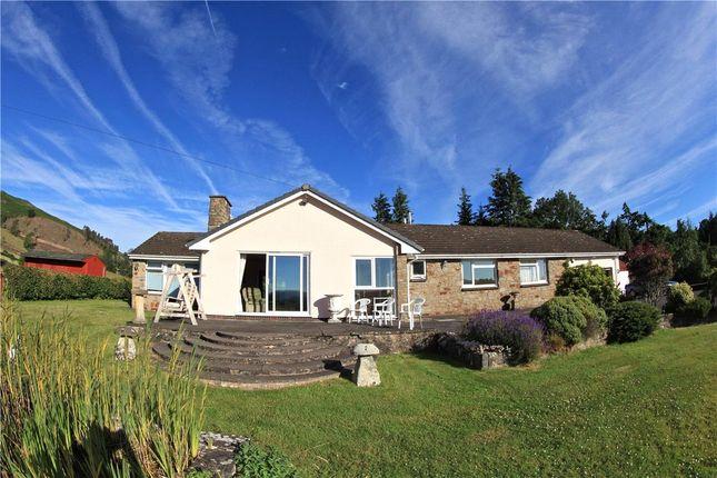 Thumbnail Bungalow for sale in Dolycoed, Llanwrthwl, Llandrindod Wells, Powys