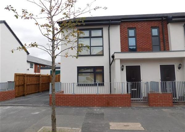 Thumbnail Semi-detached house to rent in Maine Road, Manchester