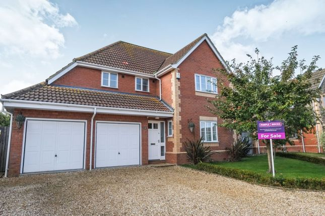 Thumbnail Detached house for sale in Wellington Road, Melton Constable