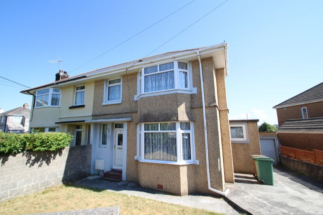 Thumbnail Semi-detached house for sale in Princess Avenue, Higher St. Budeaux, Plymouth