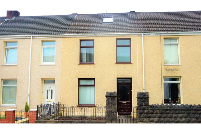 Thumbnail Terraced house for sale in Briton Ferry Road, Neath