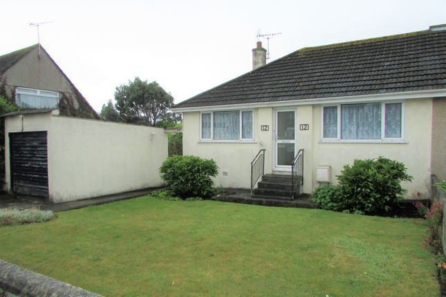 Thumbnail Semi-detached bungalow to rent in Roeselare Avenue, Torpoint