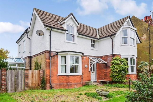 Thumbnail Detached house for sale in Dover Road, Ringwould, Deal, Kent