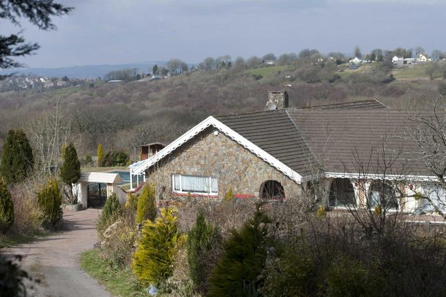 Thumbnail Country house for sale in Cilonen Road, Three Crosses, Swansea