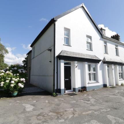 End terrace house for sale in Llyfni Terrace, Pontllyfni, Caernarfon, Gwynedd