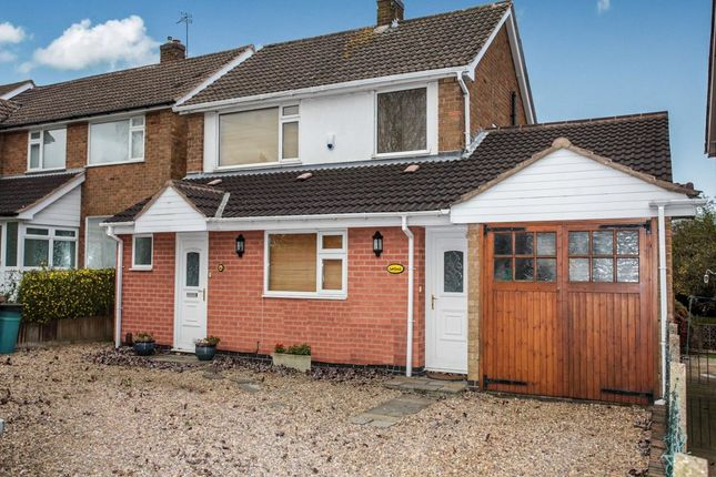 Thumbnail Detached house for sale in Holywell Drive, Loughborough