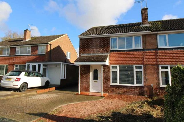 Thumbnail Semi-detached house for sale in Ladywell Way, Ponteland, Newcastle Upon Tyne, Northumberland