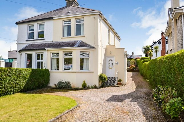 Thumbnail Semi-detached house for sale in Groomsport Road, Bangor, County Down